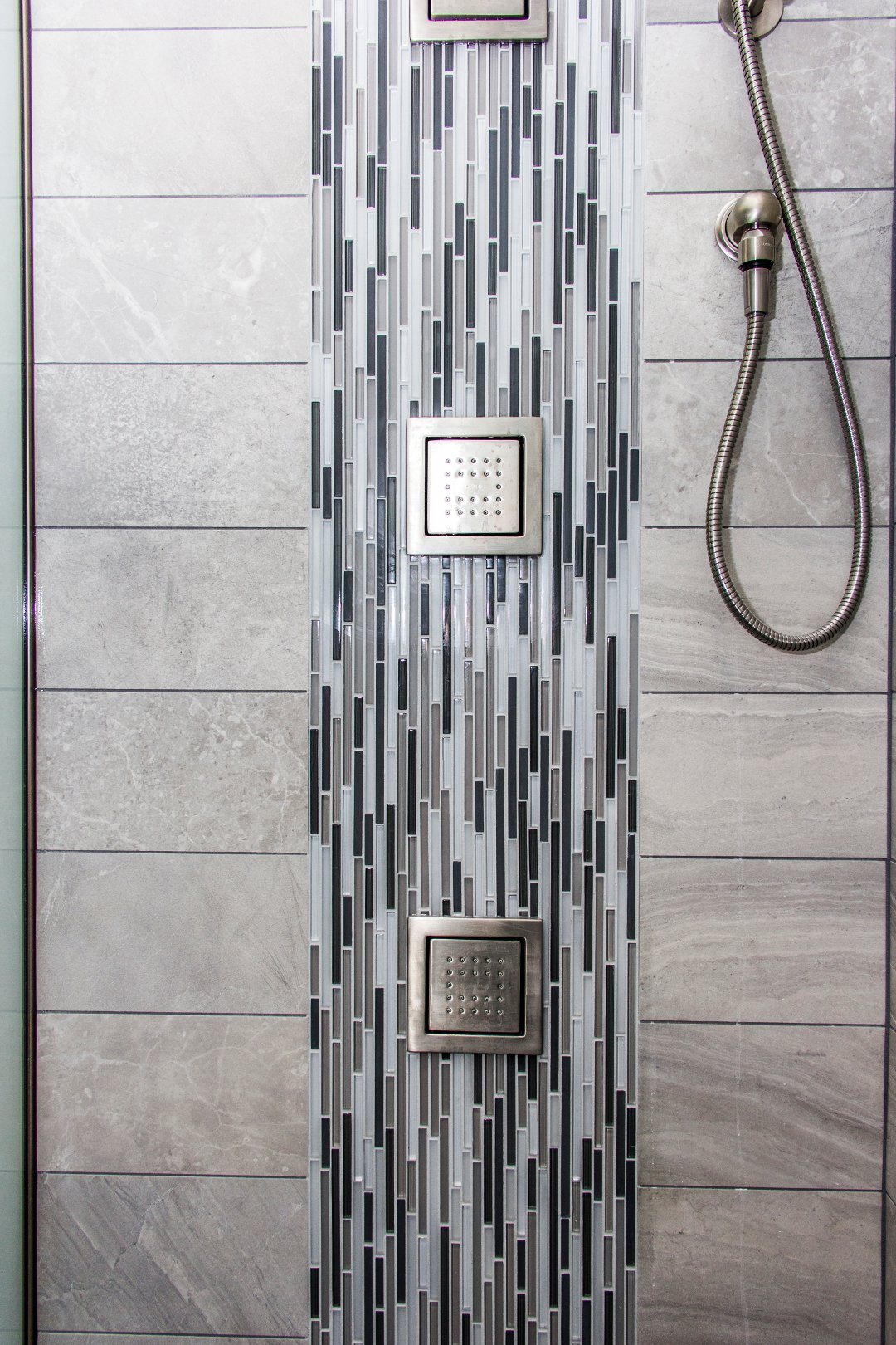 Tile Shower Waterfall Let S Remodel
