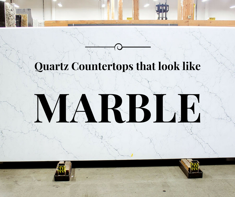 Quartz Countertops That Look Like White Marble Lets Remodel