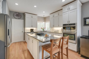 Transitional Kitchen Gresham Oregon by Let's Remodel