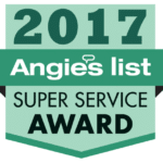 2017 Angie's List Super Service Award Logo