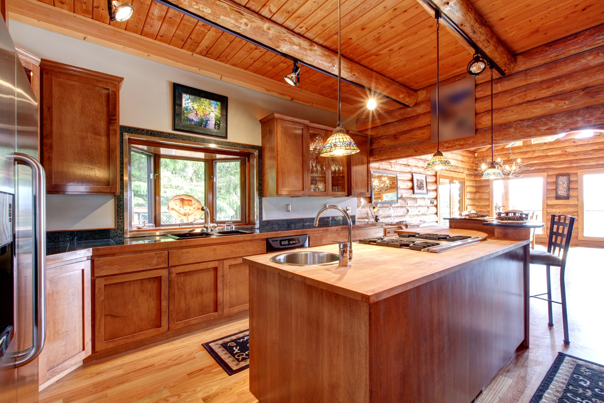 The Ultimate Guide to Craftsman Kitchen Design - Let's Remodel on house plans with glass walls, house plans with luxury kitchens, house plans with french doors, house plans with walk-in closets, house plans with garage, house plans with fireplaces, house plans with dining room, house plans with bedrooms, house plans with patio doors, house plans with vaulted ceilings, house plans with decks,