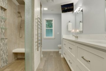 Sophisticated SE Master Bath