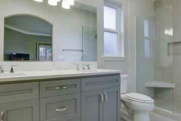 Fairview Transitional Bathroom